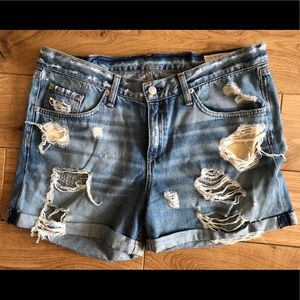 Rag and Bone jean shorts